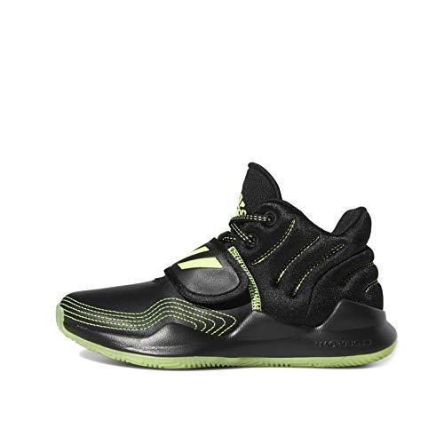 adidas Deep Threat J Sneaker, Negbás/Versen/Negbás, 38 2/3 EU