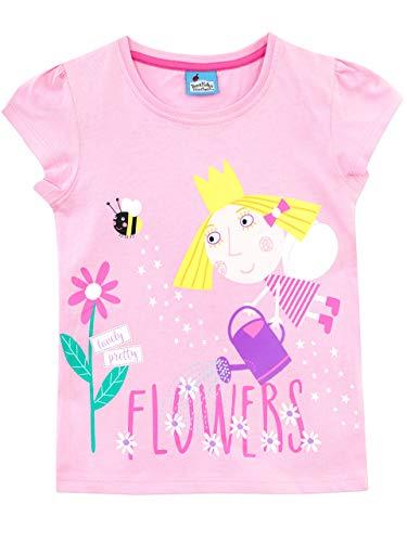 Ben & Holly's Little Kingdom - Camiseta para niñas - El pequeño reino de Ben y Holly - 2 a 3...