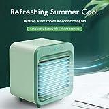 LUCKKY Portable Water-Cooled Air Conditioner-Aire Acondicionado portátil refrigerado por Agua, Mini refrigerador de Aire Personal New,Ventilador de enfriamiento ecológico