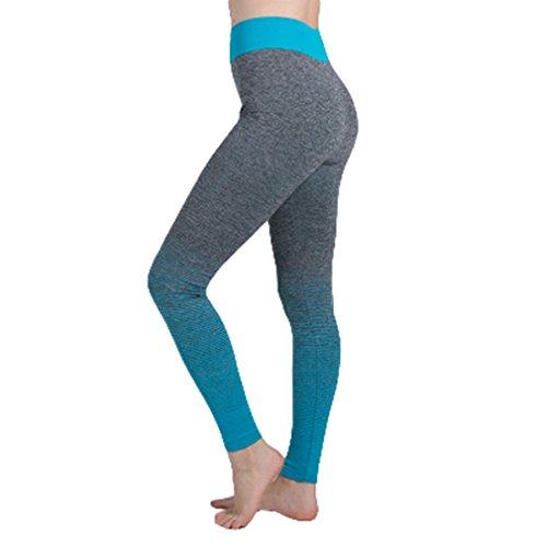 Zhongke Frauen Sporthosen Strumpfhosen Fitness Yoga Laufleistung Stretch Plus Größe Outdoor-Sport