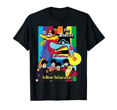 披头士拼贴海报T恤