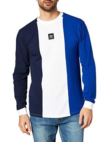 adidas Herren Langarmshirt Skateboarding Tripart Long Sleeve T-Shirt