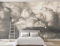 壁の壁画 壁紙 空を飛ぶ鳥 壁画 壁紙 ベッドルーム リビングルーム ソファ テレビ 背景 壁 壁面装飾のための,400x280cm