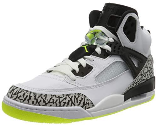 Nike Jordan Spizike, Zapatillas de bsquetbol Hombre, Blanco y Negro, 46 EU