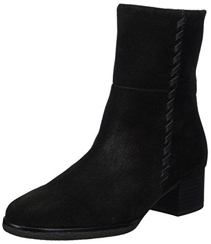 Gabor Shoes Damen Comfort Sport Stiefel, Schwarz Micro, 38.5 EU