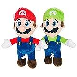 Holiny 2 Uds.Peluches Super Marie 25Cm Bros.Mario Y Luigi Muñecos De Peluche Suave Niños