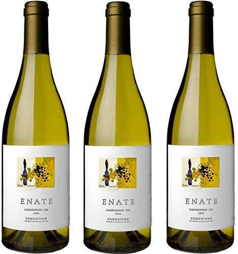 Enate Chardonnay, D.O Somontano, Vino Blanco, 3 x 750ml