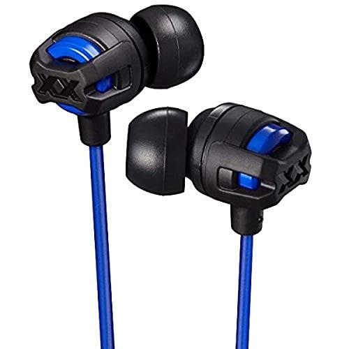 JVC HA-FX103M-AE XX In-ear hoofdtelefoon met microfoon en afstandsbediening, blauw