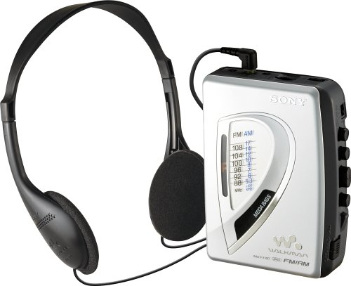 Sony WM-FX197 AM/FM Cassette Walkman