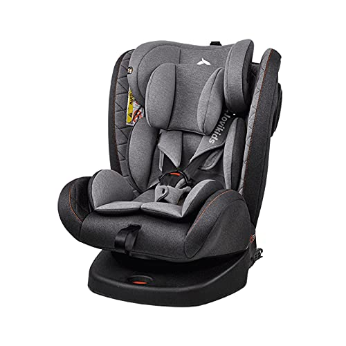 Jovikids ISOFIX Car Seat 360° Swivel with Side Protection for Group...