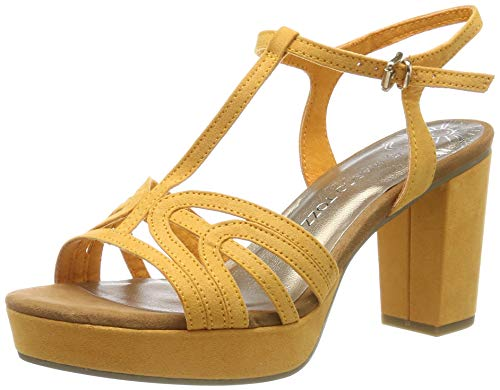 MARCO TOZZI 2-2-28332-22, Sandalias con Plataforma Plana para Mujer