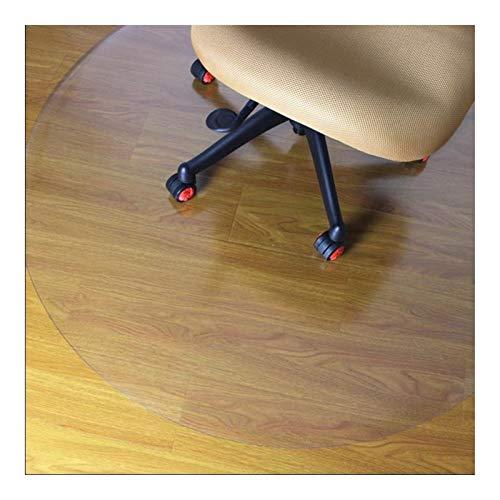 AMDHZ Schreibtischstuhl Unterlage Transparent Runden rutschfest Teppichschutz Abriebfest Ölfest Bodenschutzmatte Transparent Zum Zuhause, Küche, Büro (Color : 1.00mm, Size : Diameter-100CM)