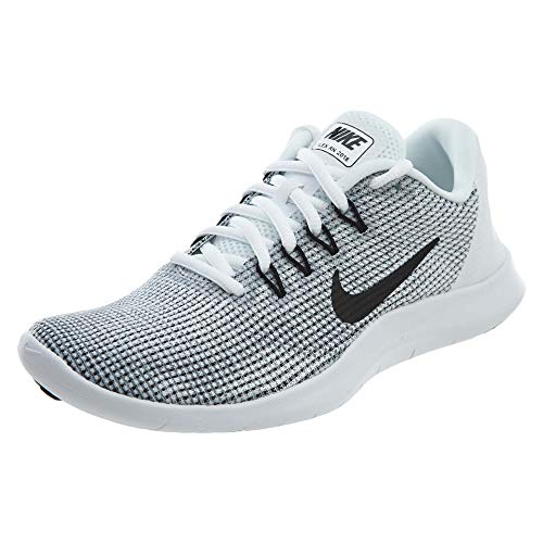 Nike Women's WMNS Flex 2018 Rn Competition Running Shoes, Multicolour (White/Black/Cool Grey 000), 5 4 UK