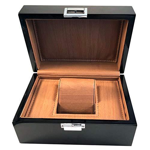 watch box Caja de Reloj Caja de joyería de Almacenamiento de Barniz...