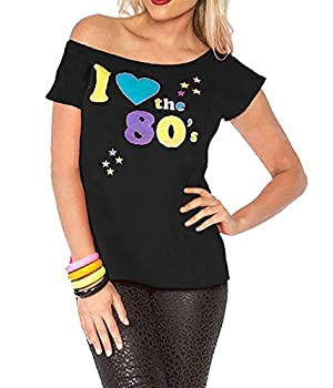 I Loveheart the 80s T-shirt for Women