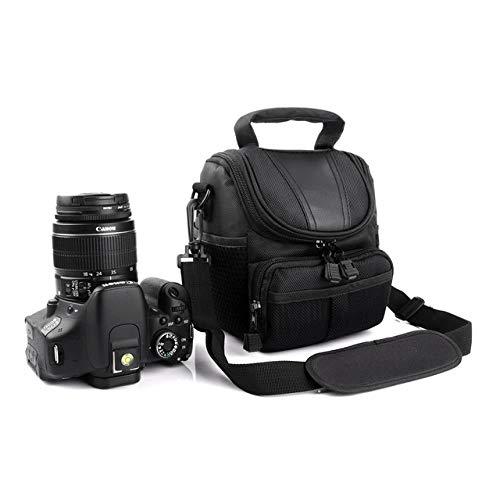 DIODIOR Borsa per Fotocamera per Canon EOS 5D 80D 60D 70D 600D 650D 450D 200D Rebel T6i T5i M5 M3 M10 M6 M100 G1X Mark II-in Borse, Nero