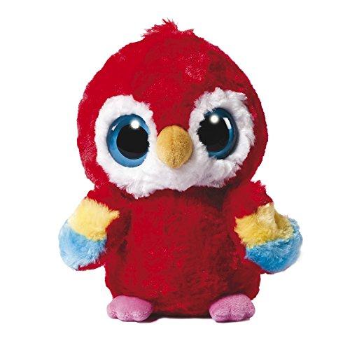 Aurora World 12984 - YooHoo und Friends Lora Scarlet Macaw, Plüschtiere, 18cm