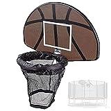 KHXJYC Trampolin-Basketballkorb, Einfach Zu Installierender Tragbarer Kindersportanzug,...