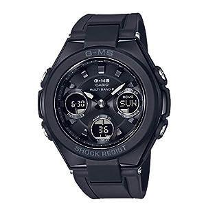"""[カシオ] 腕時計 ベビージー G-MS 電波ソーラー MSG-W100G-1AJF レディース ブラック"""""""