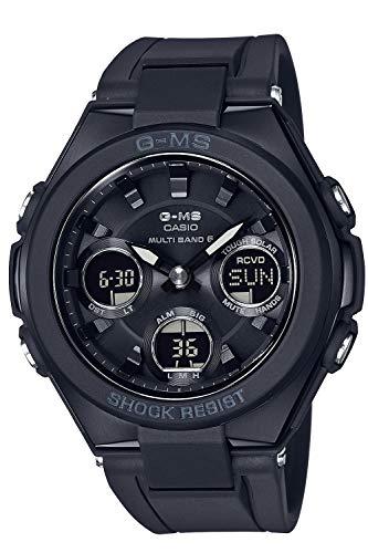 [カシオ] 腕時計 ベビージー G-MS 電波ソーラー MSG-W100G-1AJF レディース ブラック