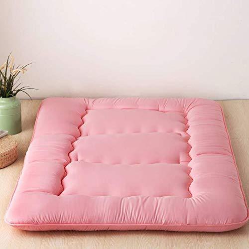 Solid Color Tatami Mattress Mat Japanese Floor Mattress Foldable Double Sleeping Tatami Floor Mat For Bedroom Living Room Dorm Room B 90×200cm(35.4×78inch)