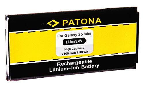 Batería - EB-BG8000 para Samsung Galaxy S5 Mini | Galaxy S5 Dx | Galaxy S5 Neo | SM-G800F | SM-G800H | SM-G800R4 | SM-G800Y - [ Li-Ion; 2100mah; 3.8V ]