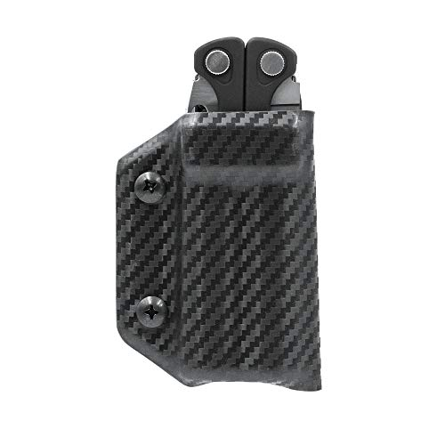 Clip & Carry Kydex Multitool Sheath for LEATHERMAN CHARGE - Made in USA (Multi-tool not included)...