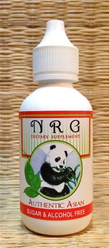 NRG (2 oz Bottle) - Energy Drops. Caffeine Free, BVO Free, Sugar Free. Just Add a Few Drops to Your Water. Golf, Running, Work Outs at Gym. Used Safely and Effectively for Over 20 Years.