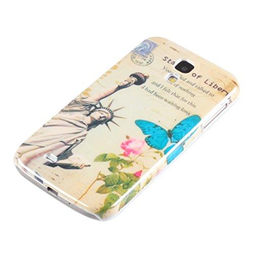 deinPhone Liberty Statue - Funda para móvil Samsung Galaxy S4, multicolor