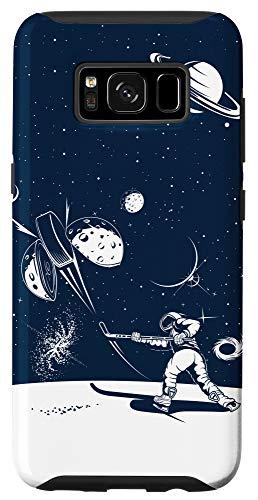Galaxy S8 Ice Hockey Phone Case Ice Hockey Lover Space Astronaut Case