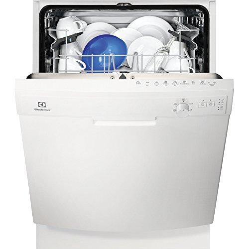 Electrolux ESF5206LOW Semi-incorporado 13cubiertos A+ lavavajilla - Lavavajillas (Semi-incorporado, Blanco, Tamaño completo (60 cm), Blanco, Botones, Giratorio, 1,5 m)