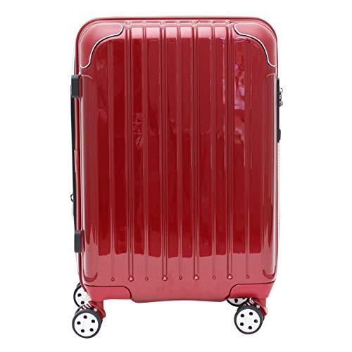 [シフレ] スーツケース 4輪 機内持ち込み 42L 48.5cm 3.1kg スカイラボ SKY2145-48 拡張 LCC対応 メタリックワイン