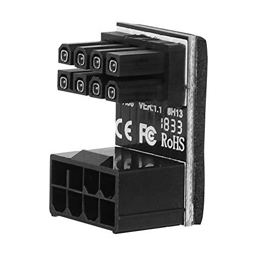 ASHATA 8pin grafische kaart power connector (180° draaien), Computer kabels grafische kaart voeding Connector 8PIN Adapter 180° draaien, PH38B
