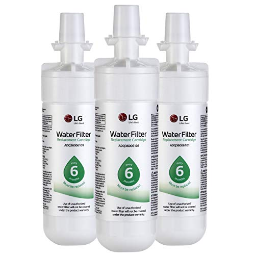 LG LT700P LT700P3 Refrigerator Water Filter, Standard, White