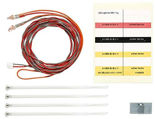 TAMIYA 56549 MFC LED-Set 3mm rot L:1100mm, Ersatzteil, Modellbau, Zubehör für RC Fahrzeug/ferngesteuertes Auto, Tuningteile