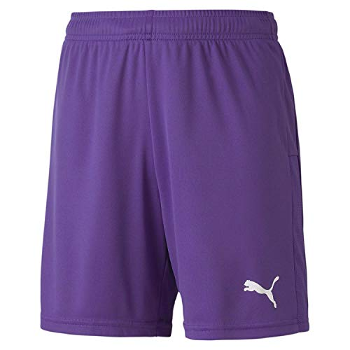 Puma Teamgoal 23 Knit Shorts Jr, Pantaloncini Unisex Bambini, Prism Violet, 140