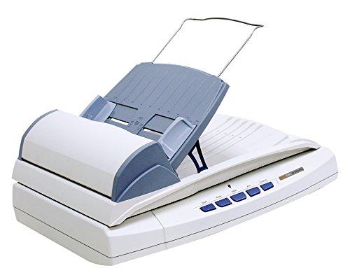 Plustek SmartOffice PL2000Plus Kombi Dokumentenscanner (LED, ADF, Flachbett, 600dpi, 20ppm) inkl. DocAction