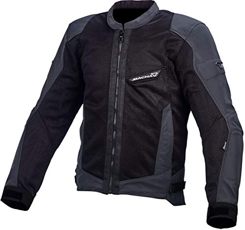Macna Velocity Motorrad Textiljacke Schwarz XXL