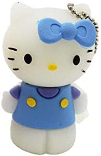 USB Flash Drive USB Flash Disk Memory Stick Thumb Pen USB2.0 Novelty Cute Cartoon Mini Station KT Cat Kitten Bow Style Sha...