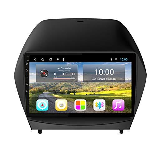 TIANDAO Android Autoradio Radio Double DIN Sat Nav para Hyundai IX35 2010-2013 Navegación GPS 2.5D Pantalla táctil Reproductor Multimedia FM Am DVD Video Receiver(Color:WiFi 2G+32G)