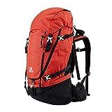 C/H Mochila de senderismo de 50 l de viaje, camping, bolsa de montaña con...