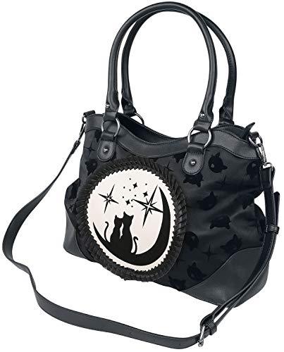 Banned Alternative Lunar Sisters Frauen Handtasche schwarz Polyurethan, Polyester Gothic, Rockwear
