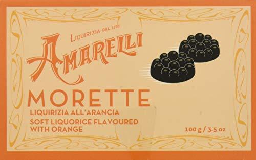 Liquirizia Amarelli Morette all'Arancia - 200 gr
