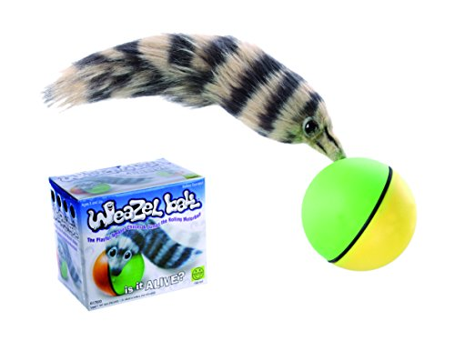 OOTB Rolling Jumping Weazel Ball - Amazing Cat Toy