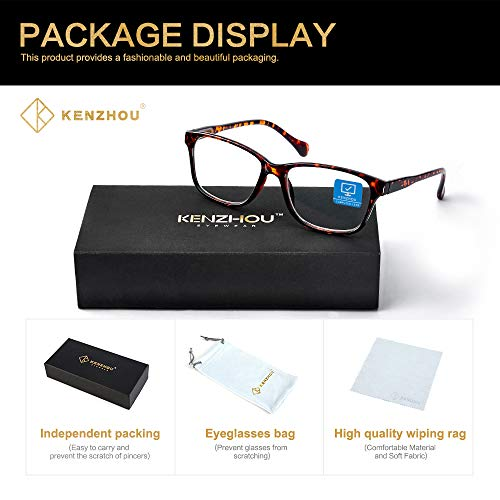 Blue Light Blocki   ng Glasses 2 pack for Women/Men Computer Reading/Gaming/TV/Phones Glasses,Anti Eyestrain