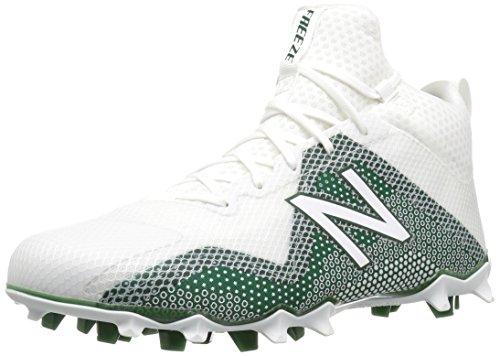 New Balance Men's FreezeLX V1 Lacrosse Shoe, Green, 15 D US