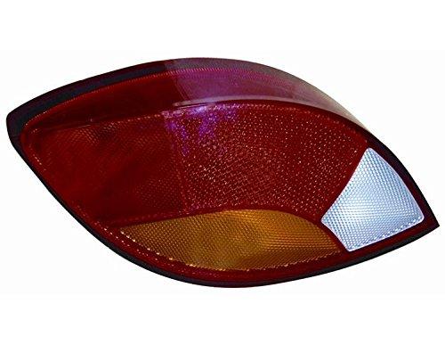 Aftermarket FO61314S - achterlicht achterlicht links