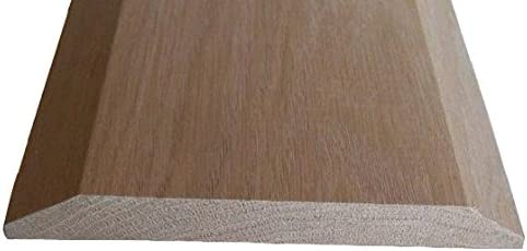 Solid Red Oak Interior Threshold Long Low price Beach Mall - Style A i 1 inches x 2 24 4