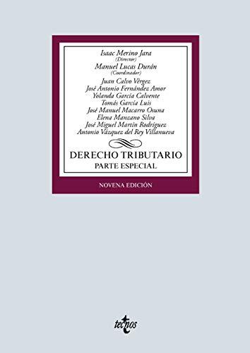 Derecho tributario: Parte especial (Derecho - Biblioteca Universitaria de Editorial Tecnos)