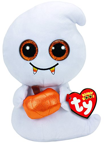 TY Beanie Boos Halloween Scream-Fantasma 23 cm (37147TY) (United Labels Ibérica , color/modelo surtido